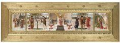 John Melhuish Strudwick - Love's Music, a triptych