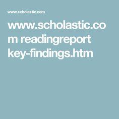 www.scholastic.com readingreport key-findings.htm