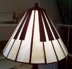 Stained glass lampshades and lighting by Art Glass Ensembles:
