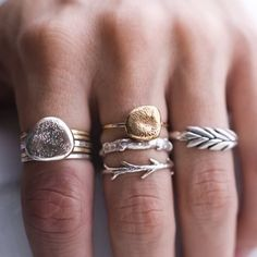 rings. i love the branch