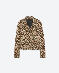 Image 8 of ANIMAL PRINT JACKET from Zara $100