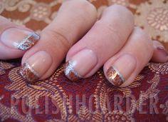 Polish Hoarder Disorder (PHD): Let's FALL back. Nail Tip Designs, Holiday Nail Designs, Holiday Nails, Fall Nails, Nail Polish Art, Nail Art, Hair And Nails, My Nails, Gel Nagel Design