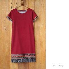 Vestido distintas telas Blouse Batik, Batik Dress, Blouse Dress, Plus Zise, Batik Kebaya, Batik Fashion, Fashion Design Sketches, African Wear, African Fashion Dresses