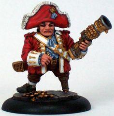 Searforge (Rhulic) Lord Rockbottom solo for Warmachine