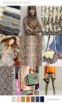 Our FV contributor and friend Pattern Curator curates an insightful forecast of mood boards color stories. They are collectors of images and photos to offer print pattern and color trends. Each of # fashion 2019 women Fall Fashion Trends, Fashion 2017, Latest Fashion Trends, Autumn Fashion, Fashion Styles, 80s Fashion, Fashion Brands, Cheap Fashion, Fashion Boots