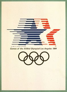 Olympic posters from the first modern games in 1896 to 2008 – in pictures - Century Olympic posters: 1984 Los Angeles Olympic Games Century Olympic posters: 1984 Los Angeles O -