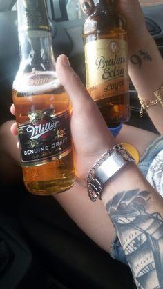 Cervejas Miller & Brahma extra