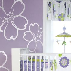 Glenna Jean LuLu White Flower Wall Stickers   Wall Sticker Outlet...love The Part 96