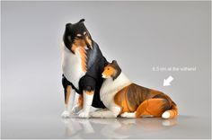 BJD dog: Collie 65 cm at the withers by ElleoDolls on Etsy