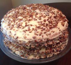 Toasted Butter Pecan Cake Recipe - YUM!! - Thrifty Jinxy
