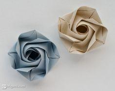 crafts / Origami Rose