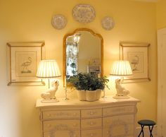 symmetrical arrangements adds balance, it is calming and pleasing to the eye