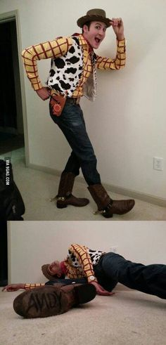 Woody, Toy Story..... he looks like the real thing!! Awesome!