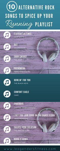 Ideas For Music Tattoo Rock Songs One Song Workouts, Fun Workouts, Running Songs, Running Tips, Running Playlists, Alternative Rock Songs, Song Playlist, Playlist Ideas, Estilo Rock