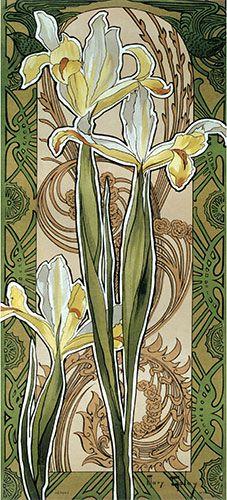 Interesting Antique Textiles Art Nouveau Deco Late Victorian