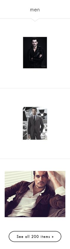 """""""men"""" by bliznec-anna ❤ liked on Polyvore featuring david gandy, men, adam levine, adam, celebrities, people, backgrounds, paul walker, editorials and guys"""