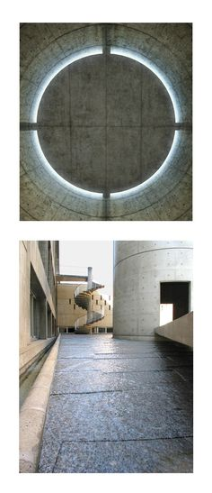 Tadao Ando. Meditation Space. Paris, France. 1994-5