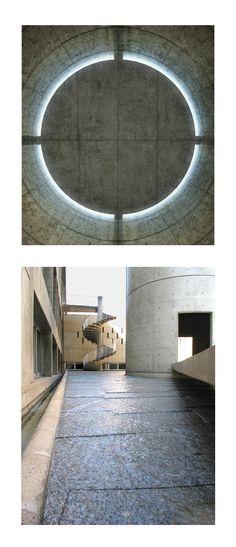Tadao Ando. Meditation Space. Paris, France. 1994-5