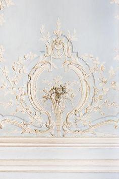 Versailles, Paris In French, Paris Architecture, Paris Images, French Blue, French Style, French Decor, Pastel Blue, Large Wall Art