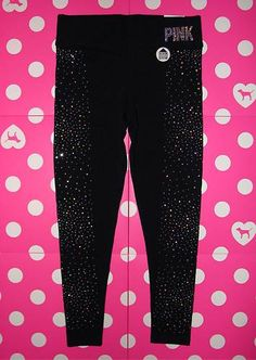 Super bling yoga leggings. I have these & just bought them yesterday:D They don't have them online though:/