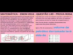 CURSO DE MATEMÁTICA ENEM 2016 QUESTÃO 149 PROVA ROSA RESOLVIDA EXAME NAC... https://youtu.be/m9jhHrbMJBs