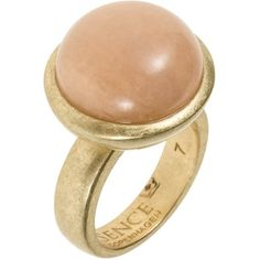 Sence Copenhagen CAMELOT Ring (82 AUD) ❤ liked on Polyvore featuring jewelry, rings, accessories, anillos, gold, women's jewellery, white pearl ring, pearl jewelry, pearl jewellery and pearl rings