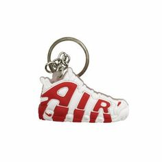 da802bd7291 Nike Air More Uptempo Sneaker Keychain | Keyring Key Chain Holder, Key Rings,  Air