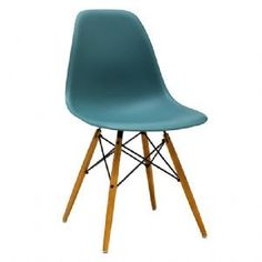 Charles & Ray EAMES DSW Eiffel Dining Chair - OCEAN