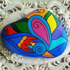 Painted rock--color!