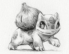 Beautiful art prints of Pokemon and more! Pokemon Sketch, Pokemon Fan Art, Dragonair, Bulbasaur, Figuras Disney Infinity, Character Art, Character Design, Pokemon Tattoo, Pinturas Disney
