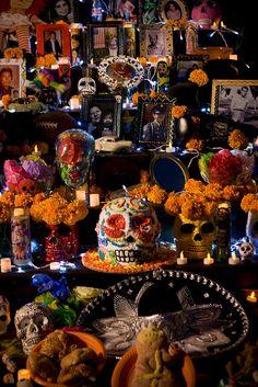 Altares, Día de los Muertos