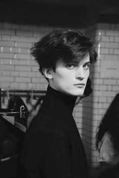 Nathan Saignes by Philip Trengove - Backstage at Agi & Sam FW15