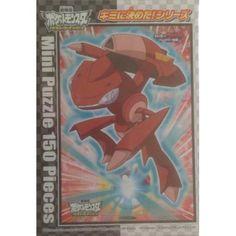 Pokemon 2013 Red Genesect 150 Piece Mini Puzzle