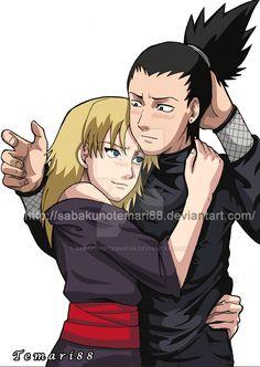 Temari and Shikamaru by SabakuNoTemari88 on DeviantArt