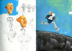 Simon Bartram Sketchbook