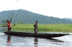 Remote villages surround the 700-mile-long Sepik River