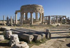 Leptis Magna : Libya