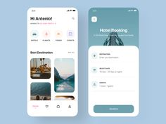 Travel App UI kit by O Majed for Brightscout on Dribbble Best Picture For social App Design For Your Taste You are looking for something, and it is going to tell you exactly what you are looking for, Mobile Ui Design, App Ui Design, Interface Design, Flat Design, Design Design, Dashboard Design, Design Layouts, User Interface, Mobile App Design Templates