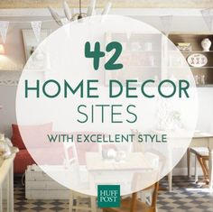 The 42 Best Websites For Furniture And Home Decor Online furniture and home decor shopping is getting easier by the minute. - These are the absolute best websites for stylish home decor Inexpensive Home Decor, Cute Home Decor, Stylish Home Decor, Easy Home Decor, Cheap Home Decor, Home Decor Websites, Home Decor Shops, Home Decor Online Shopping, Shopping Shopping