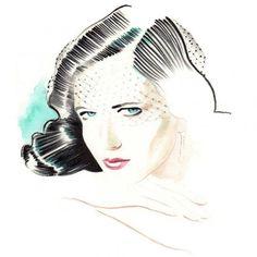 Aquarelle : Eva Green pour Milk X magazine-Hong-Kong