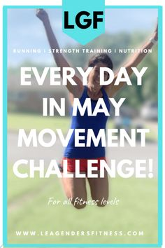 Every Day in May Movement Challenge — Lea Genders Fitness Virtual High Five, Extreme Workouts, Gym Membership, Dumbbell Workout, Fit Board Workouts, Group Fitness, Injury Prevention, How To Stay Motivated, Strength Training