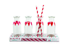 Sip-Sip Hooray Glass Bottles Set from Party Partners