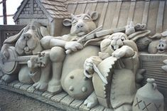 creative sand sculptures 19
