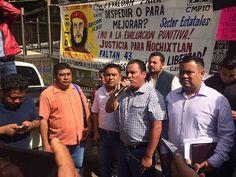 #DESTACADAS:  Sección XXII se prepara para boicotear visita del presidente de la república a Oaxaca - www.nssoaxaca.com