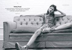 "JOANNA SCHLENZKA STYLES ""SITTING PRETTY"" FOR TWIN MAGAZINE, S/S 2012"