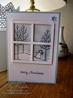 Stampin Up UK Demonstrator UK Pegcraftalot Order Stampin Up HERE: It's a Stampin' Up! White Christmas