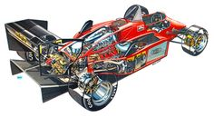 Take a look at these 10 terrific images, which depict the inner workings of Formula 1 racing machines throughout the years. We love cutaway images here at Motorsport Retro; there's just something captivating about these artists ...