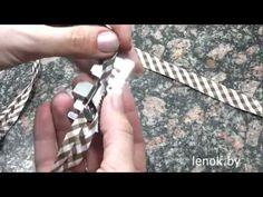 лапка для окантовки косой бейкой - YouTube
