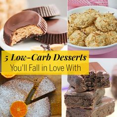 5 Low-Carb Desserts You'll Fall in Low With