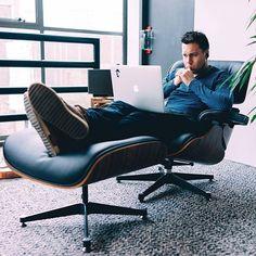 Eames chair + MacBook Pro Source: @madeawkward #SetupTour #setup #workspace #workstation #interiordesign #interior #design #designer #developer #programmer #programming #code #ux #ui #apple #mac #macbook #macbookpro #pro #professional #tech #technology #productivity #eames #eameschair #minimal #minimalist #minimalism #edc #everydaycarry